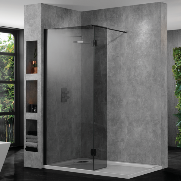AquaDart_10_Wetroom_With_Return_Smoked_Black