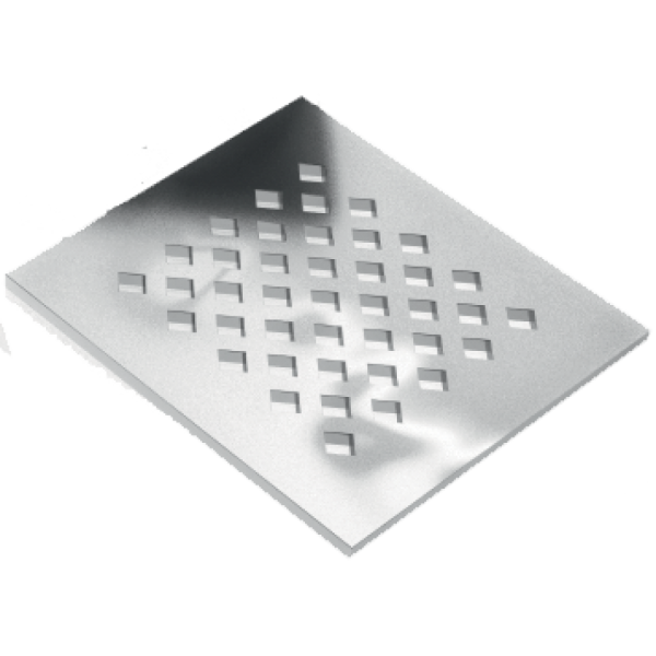 Jackoboard 5mm Stainless Steel Drain Grate
